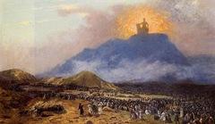 Moses on Mount Sinai Jean-Léon Gérôme -1895-1900